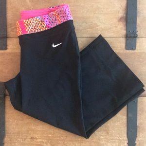 Nike Womens Black Workout/ Yoga Pants